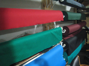 Spartanburg pool table recovering table cloth colors